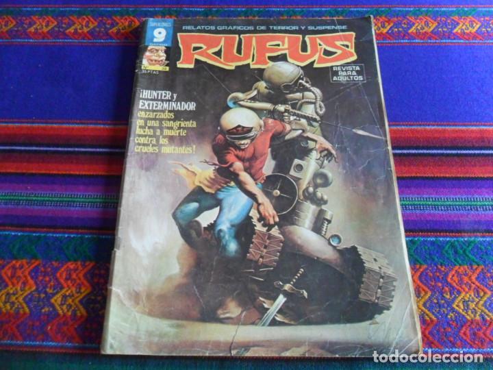 Cómics: RETAPADO RUFUS NºS 40, 35, 36, 32, 52, 33 Y 56. GARBO 1976. 400 PTS. TAPAS DURAS. REGALO Nº 38. - Foto 2 - 39395816