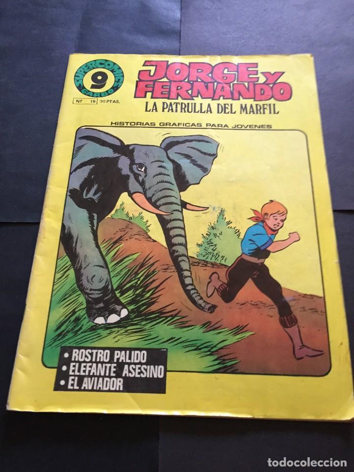 COMIC JORGE Y FERNANDO- Nº 19 - EL DE LAS FOTOS VER TODOS MIS COMICS Y TEBEOS (Tebeos y Comics - Garbo)