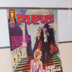 Cómics: RELATOS DE TERROR Y SUSPENSE RUFUS Nº 47 - GARBO. Lote 288217053