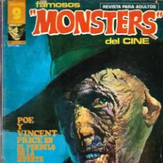 Cómics: FAMOSOS MONSTERS DEL CINE Nº 17 - GARBO 1976 - DIFICIL. Lote 288363688