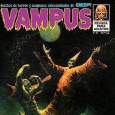 Cómics: VAMPUS-IMDE- Nº 37 -VICENTE ALCÁZAR-R.CORBEN-MARTIN SALVADOR-JACK SPARLING-1974-CASI BUENO-LEAN-5665. Lote 293421103