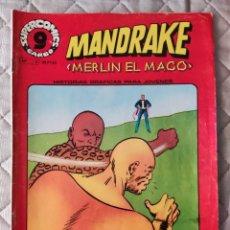 Cómics: MANDRAKE Nº 5 SUPERCOMICS GARBO. Lote 293438778