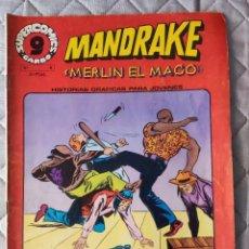 Cómics: MANDRAKE Nº 8 SUPERCOMICS GARBO. Lote 293438928