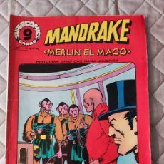 Cómics: MANDRAKE Nº 11 SUPERCOMICS GARBO. Lote 293439038