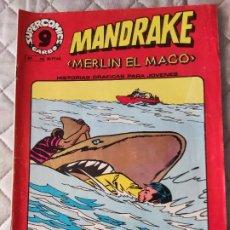 Cómics: MANDRAKE Nº 14 SUPERCOMICS GARBO. Lote 293439198