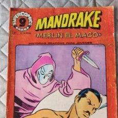Cómics: MANDRAKE Nº 17 SUPERCOMICS GARBO. Lote 293439353