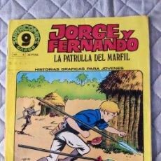 Cómics: JORGE Y FERNANDO Nº 10 SUPERCOMICS GARBO. Lote 293439528