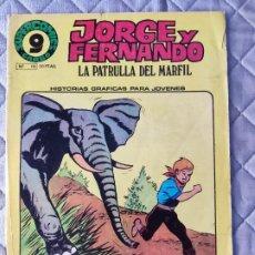 Cómics: JORGE Y FERNANDO Nº 19 SUPERCOMICS GARBO. Lote 293440063