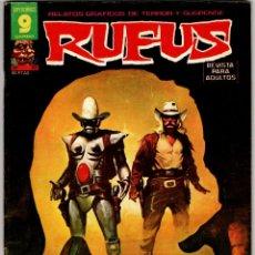 Cómics: RUFUS Nº 53 (GARBO 1977). Lote 295439383