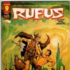 Cómics: RUFUS Nº 51 (GARBO 1977). Lote 295439628