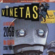 Cómics: VIÑETAS - Nº 6 - ED. GLENÁT 1.993. Lote 3308655