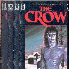 Cómics: THE CROW -J. O' BARR -TEBEOS GLÉNAT, 1995. COMPLETO (4 EJEMPLARES; NÚMEROS 1, 2, 3 Y 4).. Lote 27280788