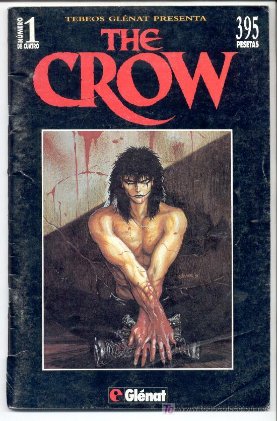 Cómics: THE CROW -J. O Barr -Tebeos GLÉNAT, 1995. Completo (4 ejemplares; números 1, 2, 3 y 4). - Foto 2 - 27280788