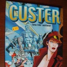Cómics: CUSTER. CARLOS TRILLO/J. BERNET. GLÉNAT. Lote 26121957