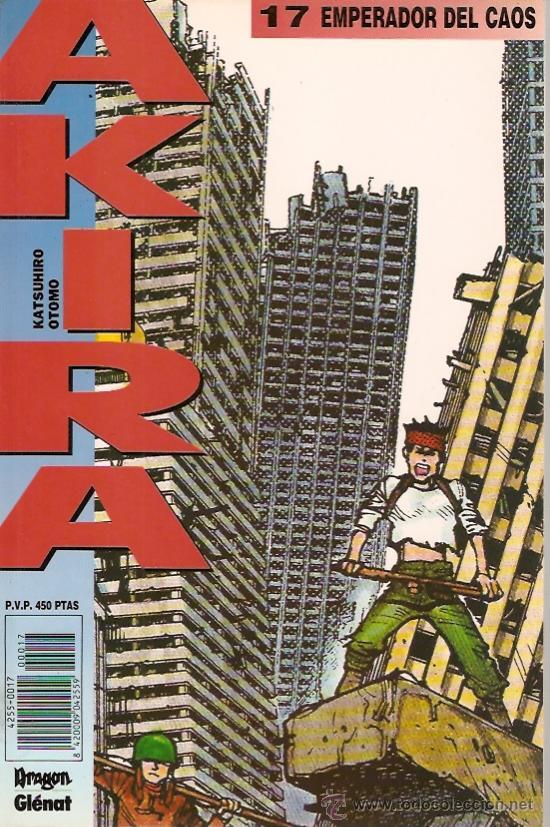 COMIC AKIRA Nº 17 (Tebeos y Comics - Glénat - Comic USA)