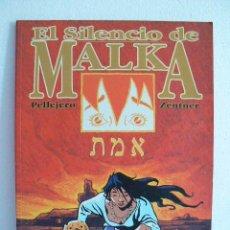 Cómics: EL SILENCIO DE MALKA. EDICIONES GLENAT.. Lote 27202409