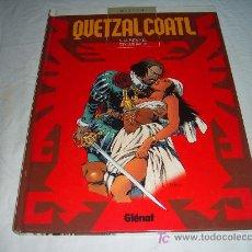 Cómics: QUETZALCOATL Nº 5: LA PUTA Y EL CONQUISTADOR.GLÉNAT 2003. Lote 25199906