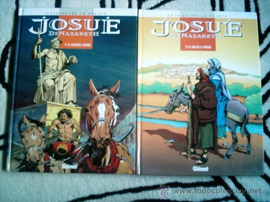 JOSUE DE NAZARETH T1 Y T2. GLENAT 1998. DIBUJOS VICTOR DE LA FUENTE (Tebeos y Comics - Glénat - Autores Españoles)
