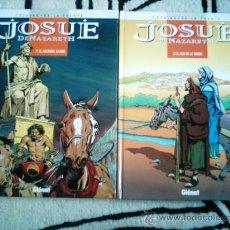 Cómics: JOSUE DE NAZARETH T1 Y T2. GLENAT 1998. DIBUJOS VICTOR DE LA FUENTE. Lote 53931595