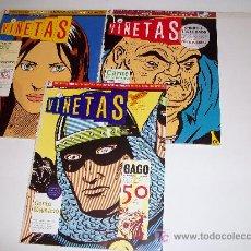 Cómics: GLENAT: VIÑETAS , Nº 1-2-3. Lote 13079407