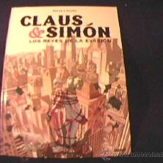 Cómics: CLAUS & SIMON. LOS REYES DE LA EVASION. POR ARCAS Y ACUÑA. GLENAT, 2005. Lote 19222925