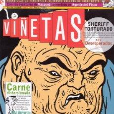 Cómics: VIÑETAS Nº 2. CON EVA MEDUSA, LOS DESESPERADOS, TORPEDO, VAZQUEZ Y MUCHO MAS. EDICIONES GLENAT.. Lote 26599212