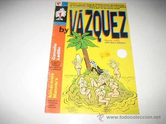 VAZQUEZ Nº 1 - GLENAT (Tebeos y Comics - Glénat - Comic USA)