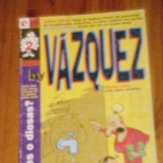 Cómics: BY VAZQUEZ. HUMOR CAFRE, SOLO PARA ADULTOS. Nº 2. JUNIO 1995 *. Lote 12479483