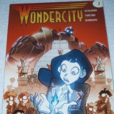 Comics: WONDERCITY . VOLUMEN 1,( GUALDONI-TARCONI-BARBARO ) RECIENTE, NUEVO Y EN OFERTA.. Lote 25297026