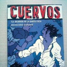 Cómics: CUERVOS T.2 / SICARIOS DE LA SANTA COCA / GLENAT 2005(DESC.50%). Lote 22635448