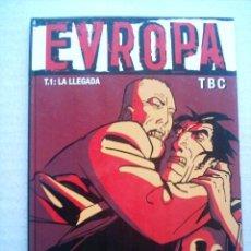 Cómics: EVROPA T.1 / LA LLEGADA / GLENAT 2005 VIÑETAS NEGRAS Nº 1(DESC.55%). Lote 26102796