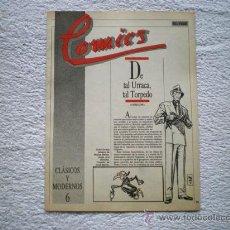 Cómics: Nº 6 DE TAL URRACA, TAL TORPEDO (COLECCION COMICS EL PAIS FASCICULOS) 1985. Lote 14578721