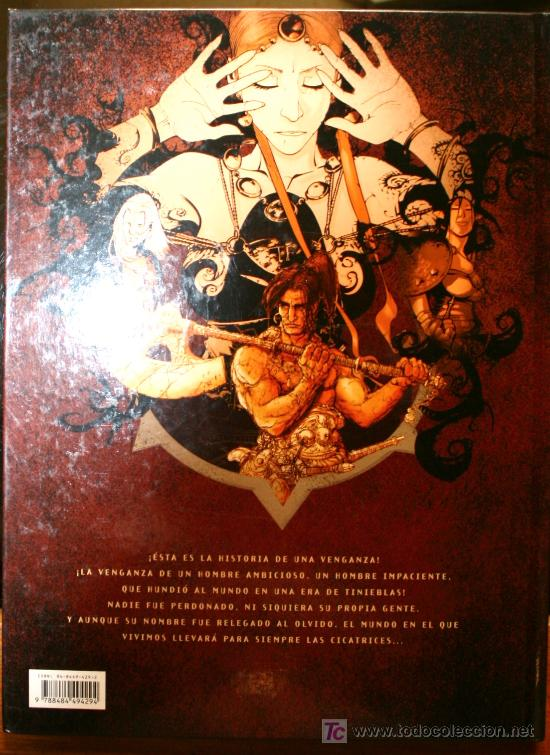 Cómics: LAS LEGIONES DE HIERRO, URKHAN EL PRINCIPE ENEIDE - BRREMAUD / SANTACRUZ - GLENAT - Foto 3 - 20932613