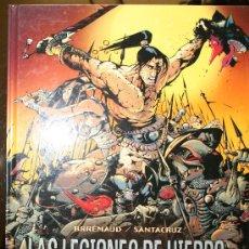 Cómics: LAS LEGIONES DE HIERRO, URKHAN EL PRINCIPE ENEIDE - BRREMAUD / SANTACRUZ - GLENAT. Lote 20932613