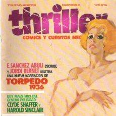 Cómics: THRILLER - TOTUAIN EDITOR NUMERO 5 TORPEDO 1936 *** 1984. Lote 15205292
