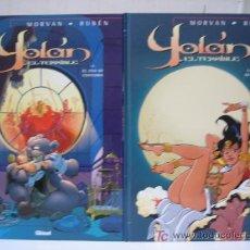 Cómics: YOLAN EL TERRIBLE - OBRA COMPLETA - GLENAT. Lote 22636314