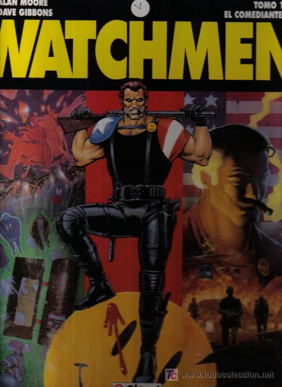 WATCHMEN - TOMO Nº 1 - EL COMANDANTE - ALAN MOORE Y DAVE GIBBONS -EDITORIAL GLENAT 1993 - COMO NUEVO (Tebeos y Comics - Glénat - Comic USA)
