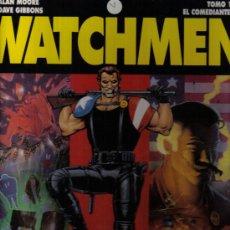 Cómics: WATCHMEN - TOMO Nº 1 - EL COMANDANTE - ALAN MOORE Y DAVE GIBBONS -EDITORIAL GLENAT 1993 - COMO NUEVO. Lote 20448075