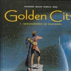 Cómics: GOLDEN CITY 1 , SAQUEADORES DE CHATARRA /POR: PECQUEUR , MALFIN ..... EDITA : GLENAT. Lote 20473766