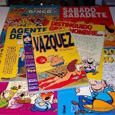 Cómics: EDICIONES GLÉNAT: LOTE DE 11 REVISTAS DE MANUEL VÁZQUEZ ( BY VÁZQUEZ). ¡¡VER FOTOS!! . Lote 26319054