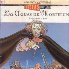 Cómics: LAS AGUAS DE MORTELUNE. EL AJEDREZ DE LA RATA. ADAMOV. COTHIAS. VIÑETAS COMPLETAS Nº 1. GLENAT.. Lote 26798451