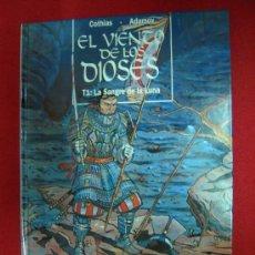 Cómics: EL VIENTO DE LOS DIOSES 1-LA SANGRE DE LA LUNA-COTHIAS- TAPA DURA. Lote 25189382