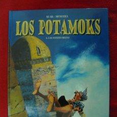 Cómics: LOS POTAMOKS 2-LAS FUENTES ROJAS-SFAR&MUNUERA-GLENAT - TAPA DURA . Lote 25251096