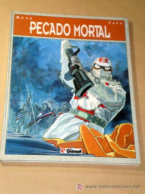 PECADO MORTAL GUIÓN POR BEHE Y TOFF, DIBUJOS DE BEHE. BIBLIOTECA GRÁFICA GLÉNAT, 1993.++++ (Tebeos y Comics - Glénat - Comic USA)