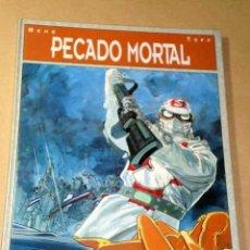 Cómics: PECADO MORTAL GUIÓN POR BEHE Y TOFF, DIBUJOS DE BEHE. BIBLIOTECA GRÁFICA GLÉNAT, 1993.++++. Lote 26241388