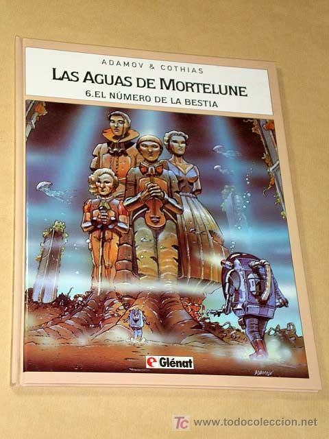 LAS AGUAS DE MORTELUNE Nº 6, EL NÚMERO DE LA BESTIA. ADAMOV Y COTHIAS. BIB. GRÁFICA GLÉNAT, 1995. (Tebeos y Comics - Glénat - Comic USA)