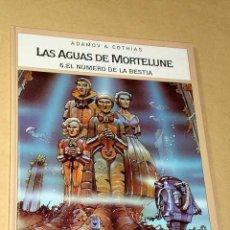 Cómics: LAS AGUAS DE MORTELUNE Nº 6, EL NÚMERO DE LA BESTIA. ADAMOV Y COTHIAS. BIB. GRÁFICA GLÉNAT, 1995.. Lote 26241389