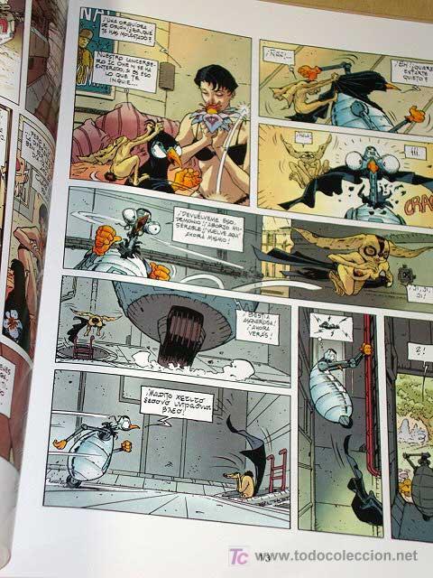Cómics: LAS AGUAS DE MORTELUNE Nº 6, EL NÚMERO DE LA BESTIA. ADAMOV Y COTHIAS. BIB. GRÁFICA GLÉNAT, 1995. - Foto 2 - 26241389
