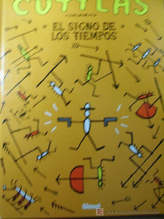 CUTTLAS: EL SIGNO DE LOS TIEMPOS – CALPURNIO (Tebeos y Comics - Glénat - Comic USA)