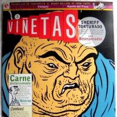 Cómics: CÓMIC VIÑETAS 2 - EVA MEDUSA ANA MIRALLES - VÁZQUEZ AGENTE DEL FISCO - TORPEDO AVENTURA ACCIÓN HUMOR. Lote 26180012